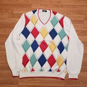 Brooks Brothers Argyle Sweater